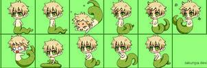 Shimeji Preview (Snake England)