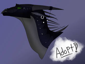 OPEN WOF ADOPT~ThreeMoons the Nightwing by lovecatsanddragons