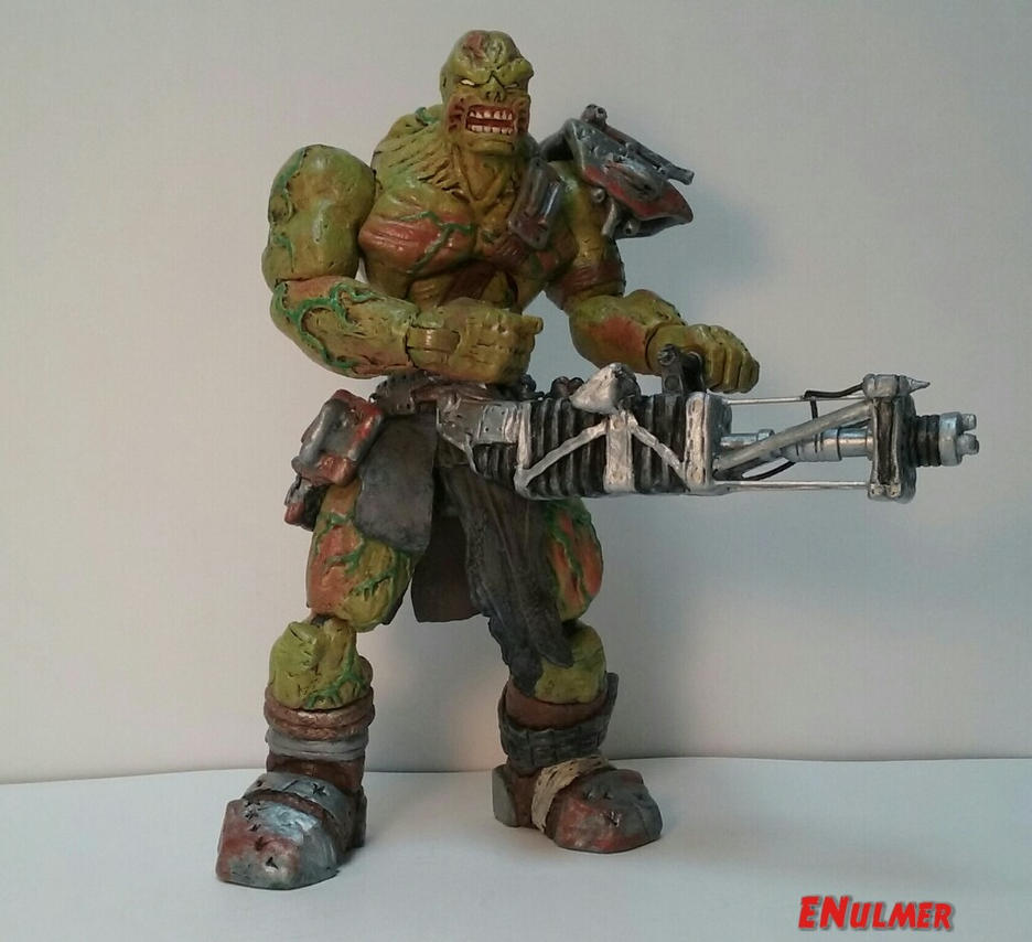 Fallout 3 Super Mutant Overlord by ENulmer