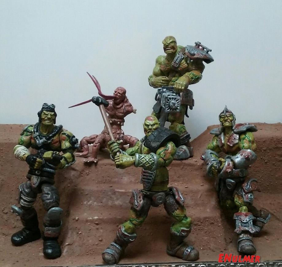 Super Mutant Death Squad by ENulmer