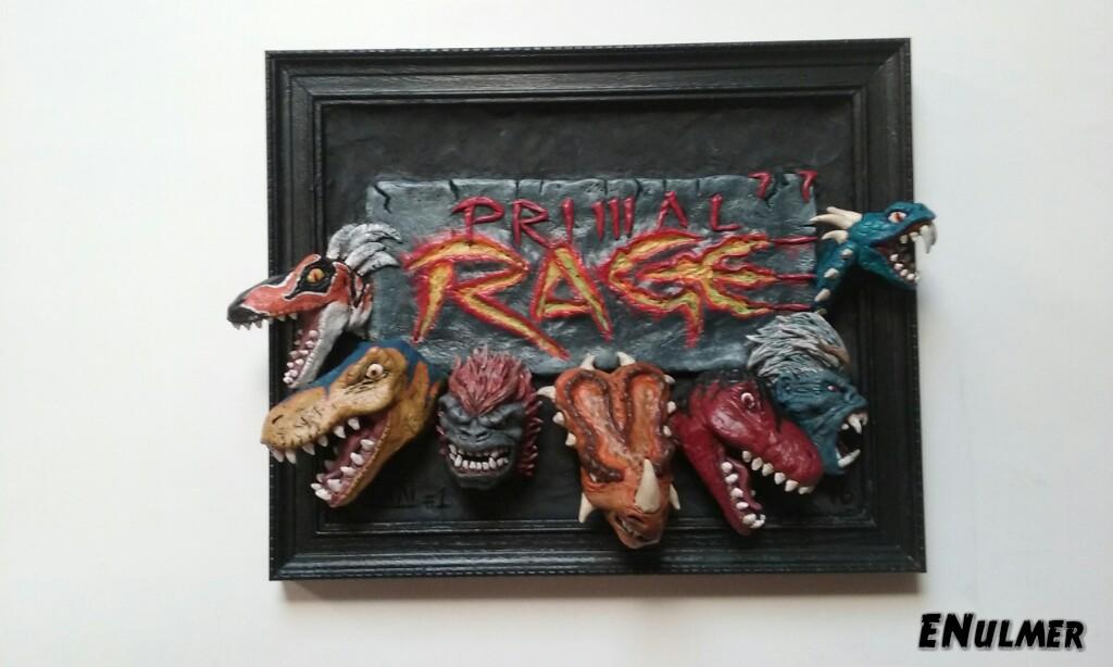 Primal Rage #1 by ENulmer