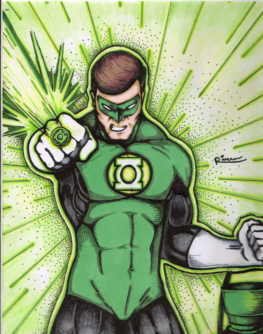 Green Lantern by IzyRivera