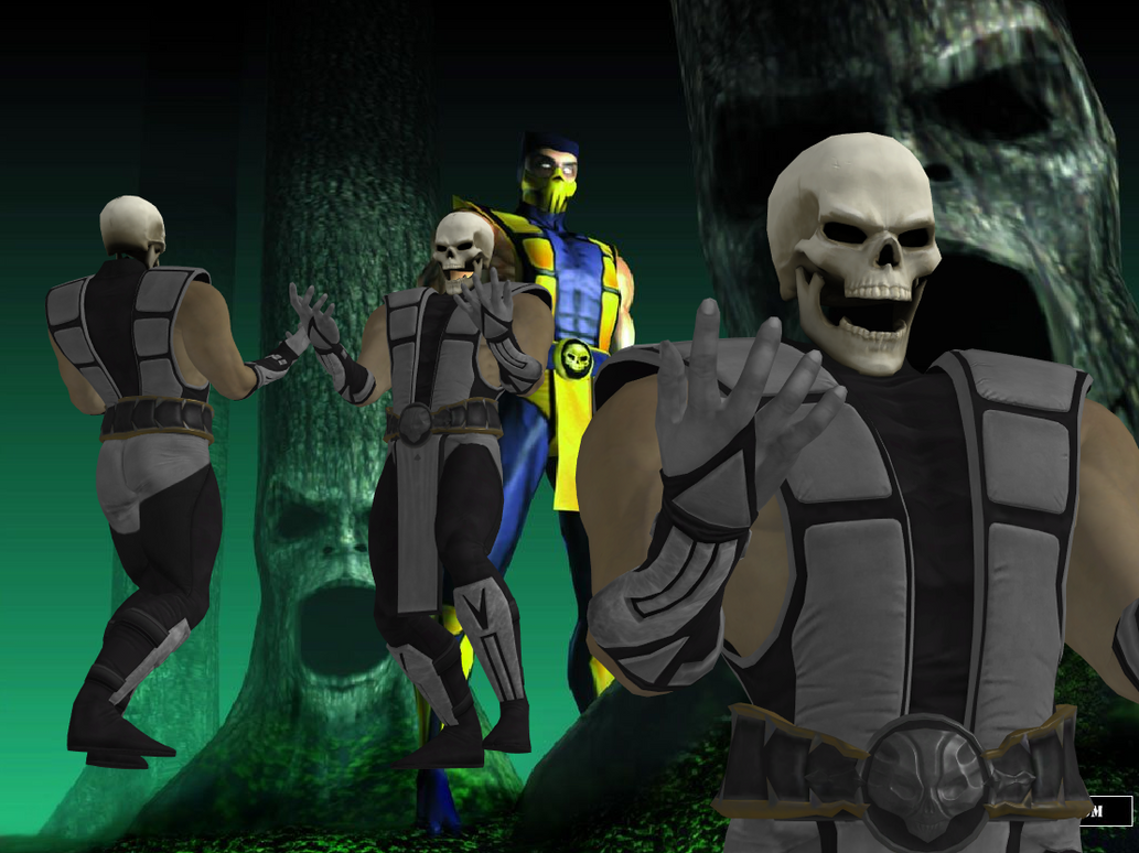 Scorpion (MK4 Alternate outfit) by TexPool on DeviantArt
