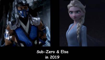 Sub-Zero and Elsa in 2019 by TexPool