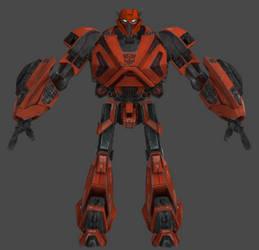 Transformers Texverse - Cliffjumper WIP by TexPool