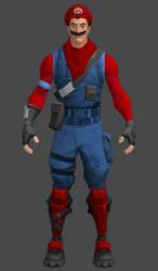 Video Game Texverse - Mario by TexPool