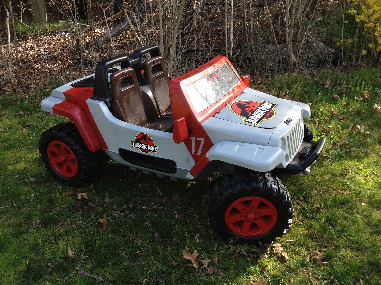 Jurassic Park Jeep Hurricane Modifiedpowerwheels Com
