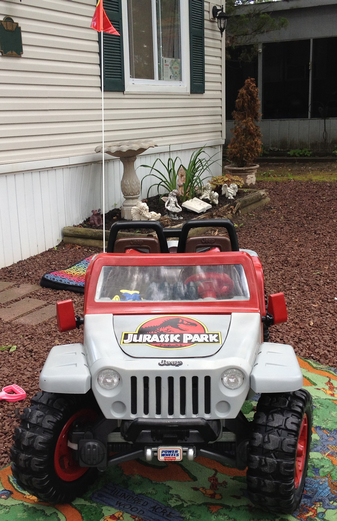Jurassic Park Jeep Hurricane Page 2 Modifiedpowerwheelscom Modified Power Wheels Gaucho Need Help This Is Not Including The Respirator Heater For Winter Or Plastic Sheet Enclosing A General Paint Parts Cost