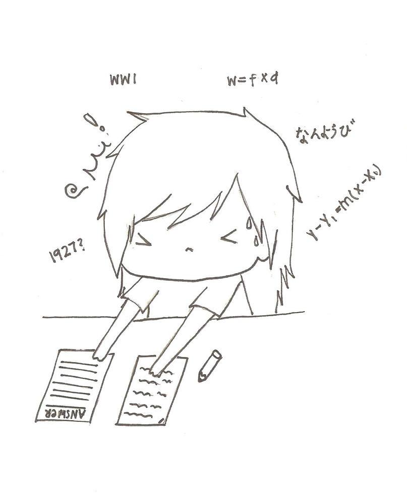 Exam Stress Exam Stress by