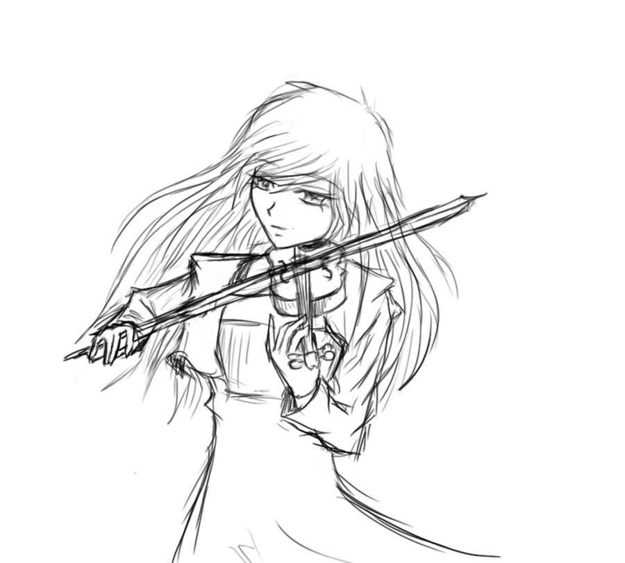 Violin Player by darkmuzik16 on DeviantArt