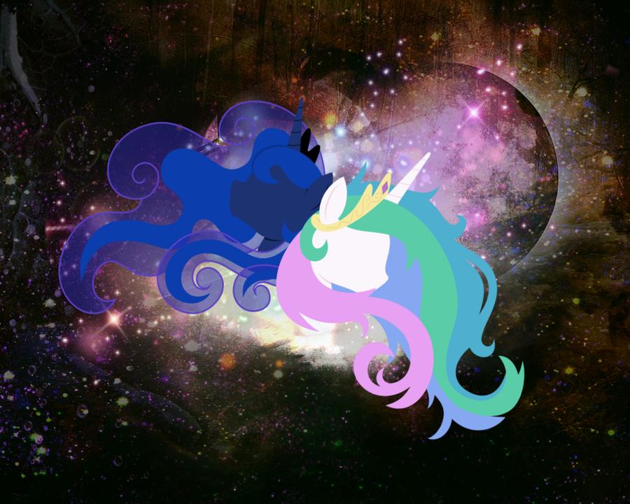 Luna and Tia. by xLovelyDeathx