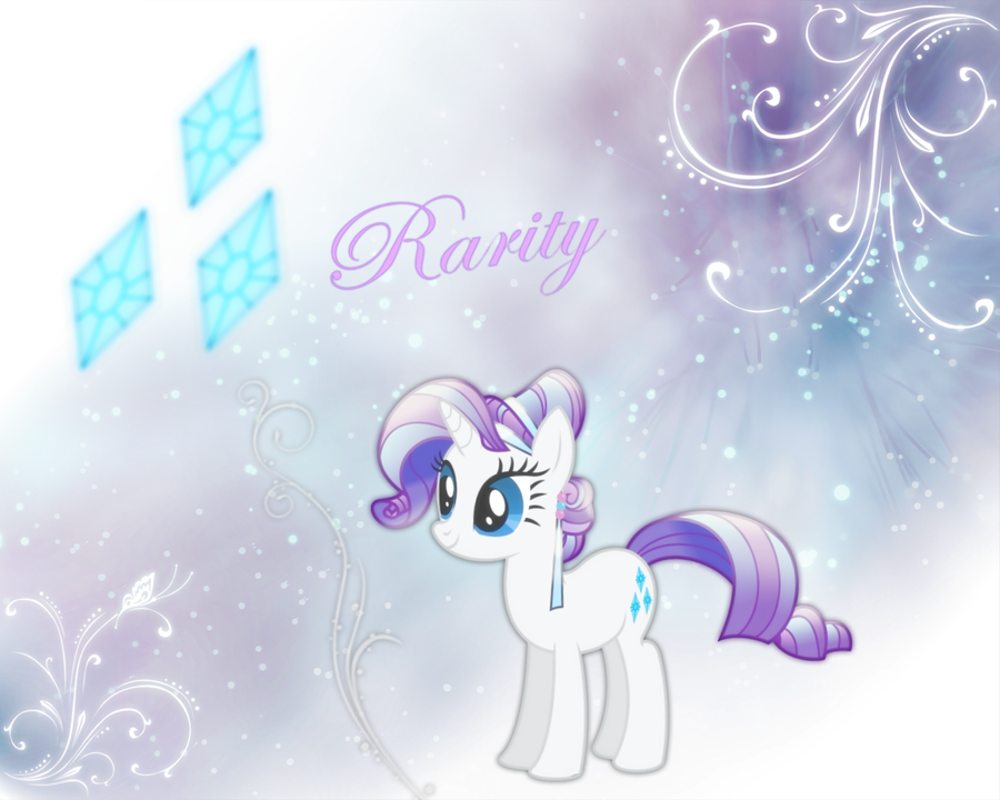 Rarity Wallpaper :P by xLovelyDeathx