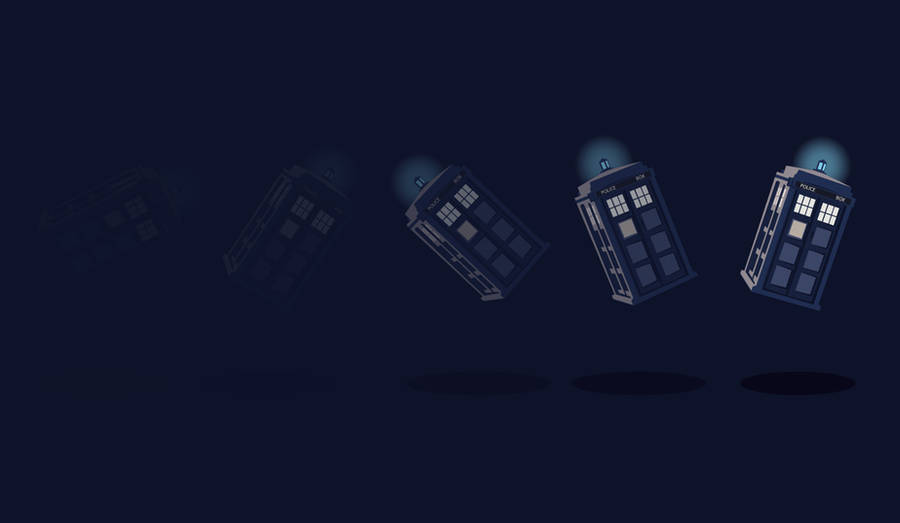 TARDIS Background by ellehcore
