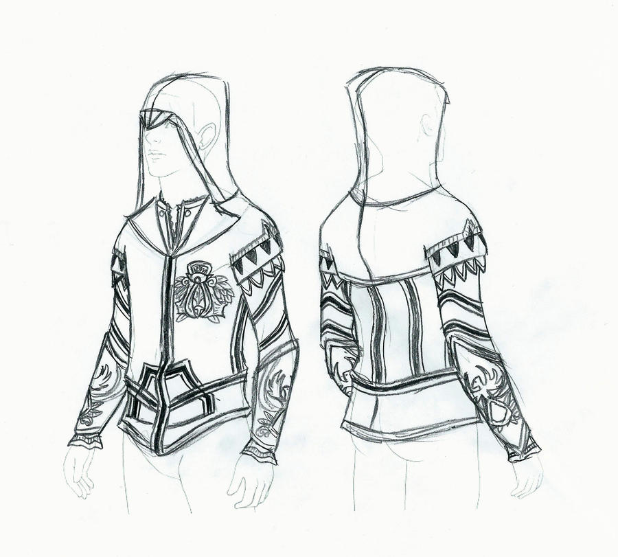 How to make a assassins creed hoodie