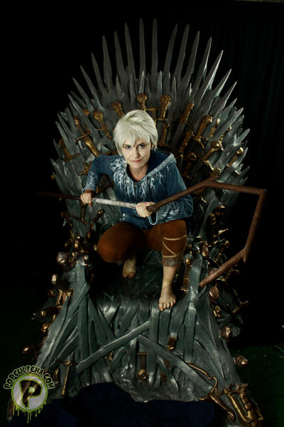 Rotg the iron throne by ellehcore on deviantart for Iron throne painting