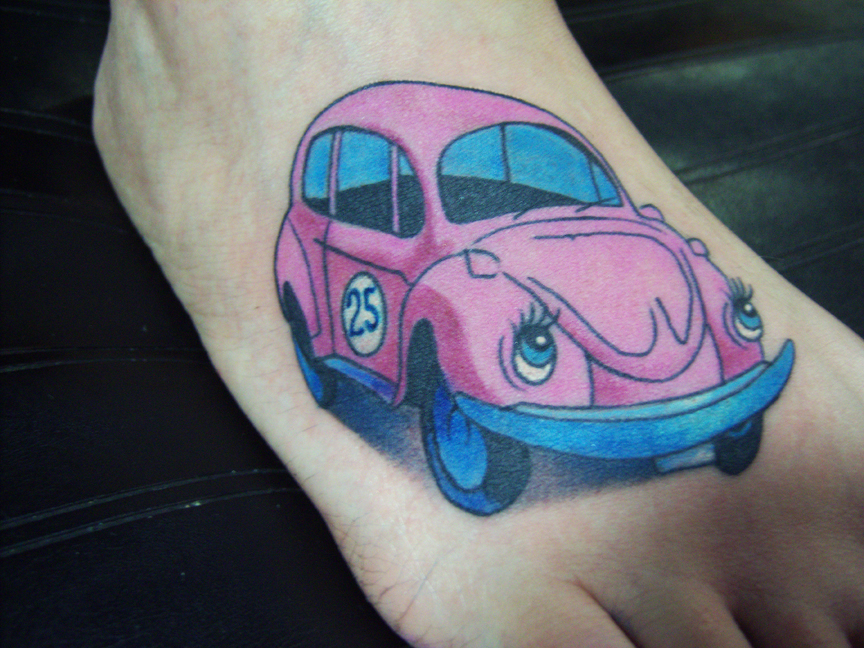 slugbug tattoo by hatefulss