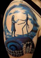 Nightmare before Xmas tattoo by hatefulss