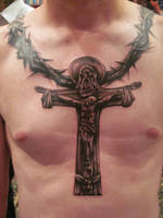 Crucifix by hatefulss