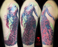 Alexander McQueen Tattoo by hatefulss