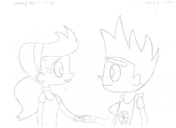 Johnny Test And Sissy By JVART1 On DeviantArt
