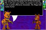 FNAF World Characters Nightmare Fredbear