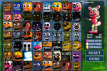 FNAF World update 3 with unwithered