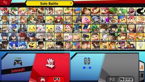 Super Smash Bros. Ultimate my roster version 2