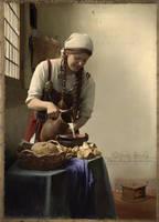 Vermeer. Variant by Blooomberg