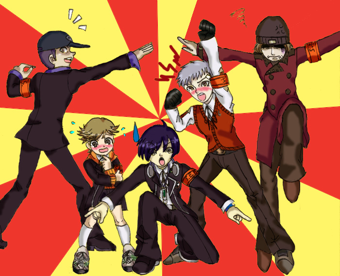 Persona 3 - Ginyu-Style SEES by KeiSteelsearch