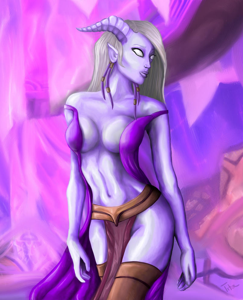 Draenei buttfuck sex picture