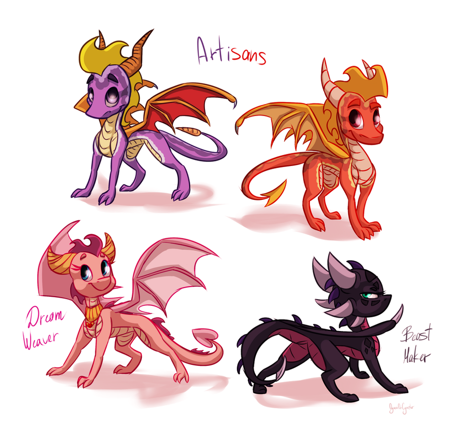 Dragon spyro and cynder mating