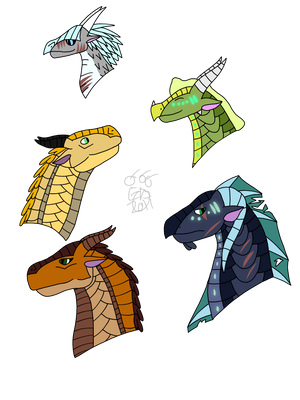 Wings of Fire requests!! by Bai-ZeWarrior on DeviantArt