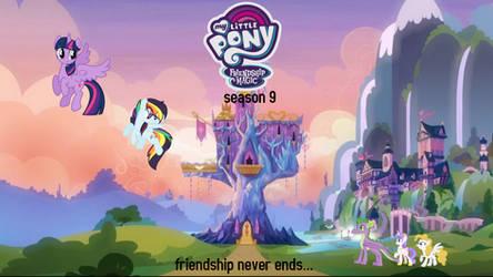 mlp season 9 fan poster 4 by rainbow521