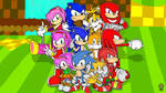 Sonic the hedgehog - 25 years of history