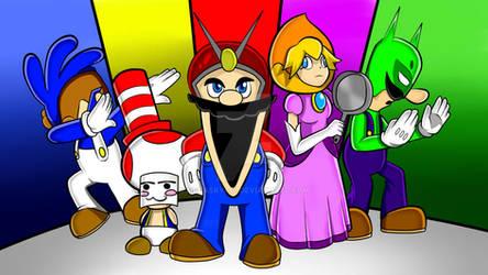 Mighty Morphin Mario Rangers