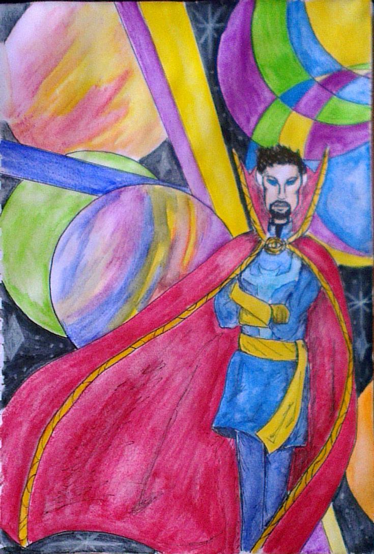 Doctor Strange by Harlequin89