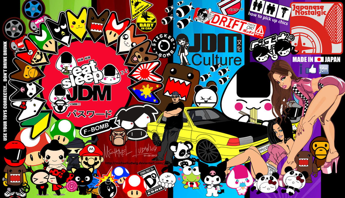 sticker bomb wallpaper cartoon - photo #44