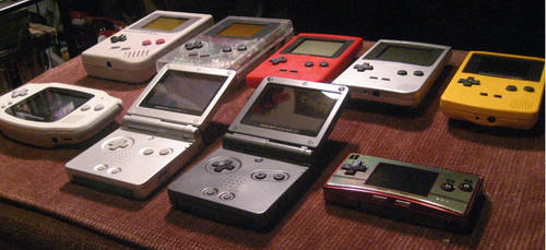20 Years of Game Boy by HoratioGiovanni