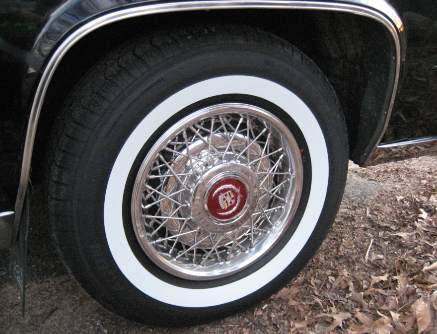 Cadillac White Wall Tires For Sale
