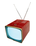 Retro TV transparent PNG