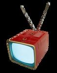 Retro TV transparent PNG