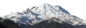 Snowy Mountain PNG