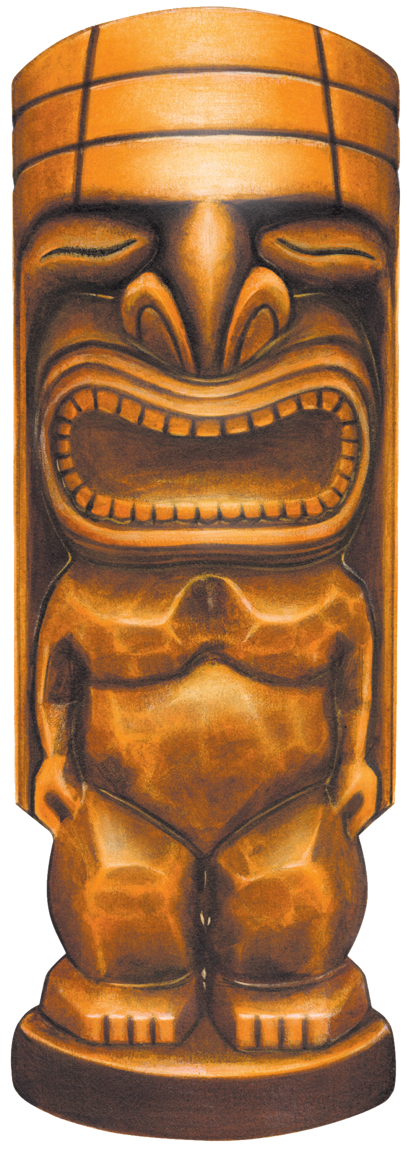 Tiki transparent PNG by AbsurdWordPreferred