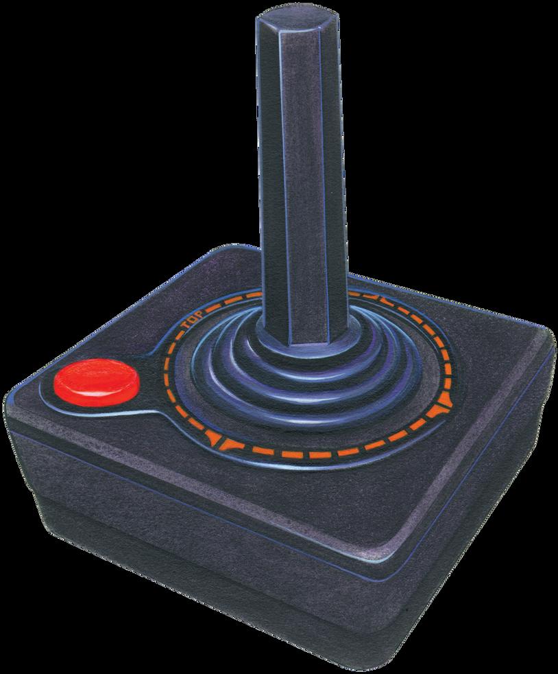 Retro Joystick PNG by AbsurdWordPreferred on DeviantArt