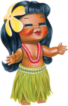 Hula Girl transparent PNG