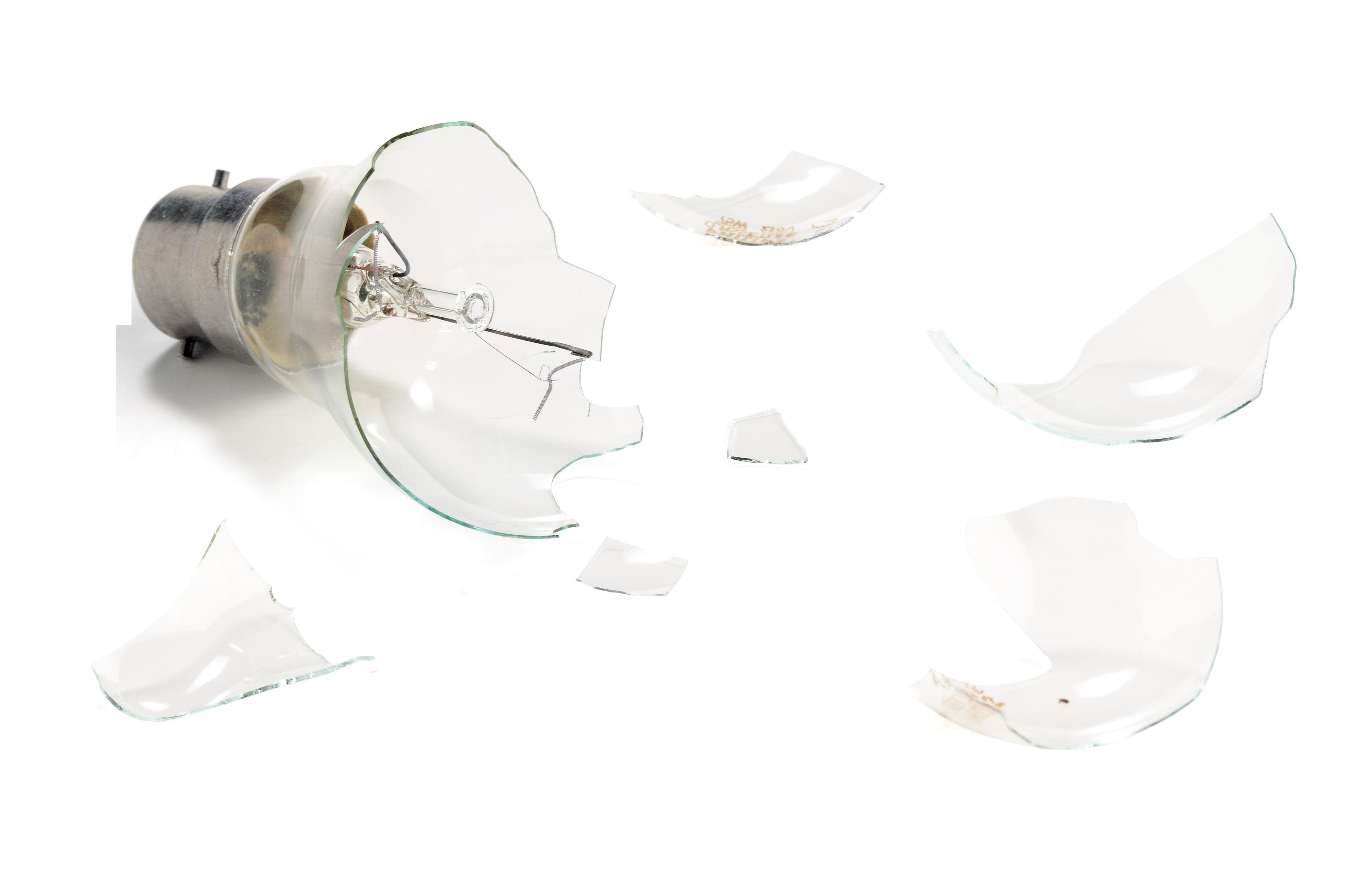 Broken Light Bulb PNG