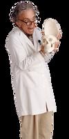 Crazy Professor and Skull