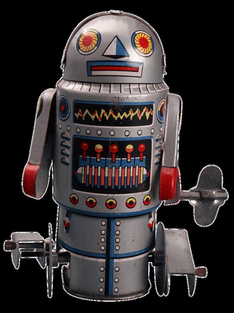 Retro Robot by AbsurdWordPreferred on DeviantArt