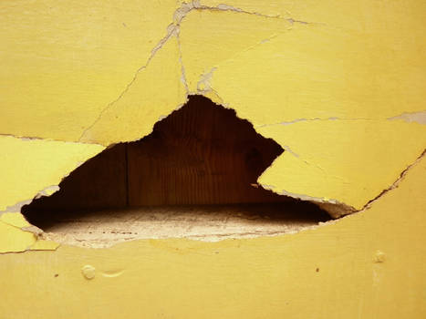 Hole in wall texture