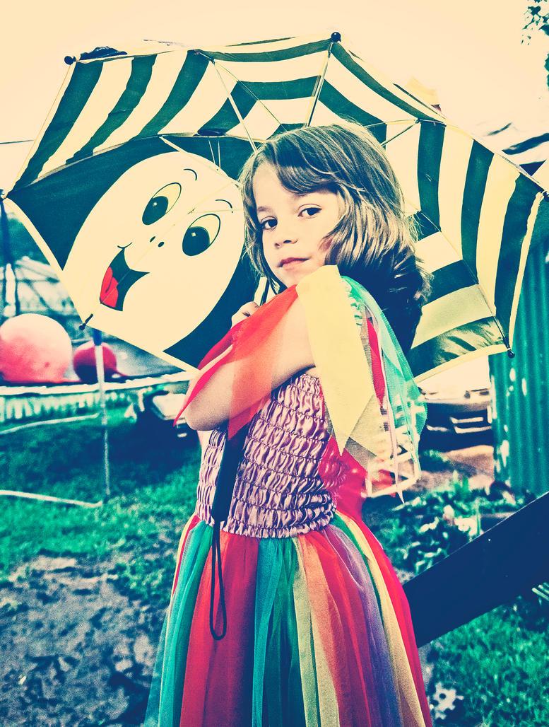 Umbrella Girl by AbsurdWordPreferred